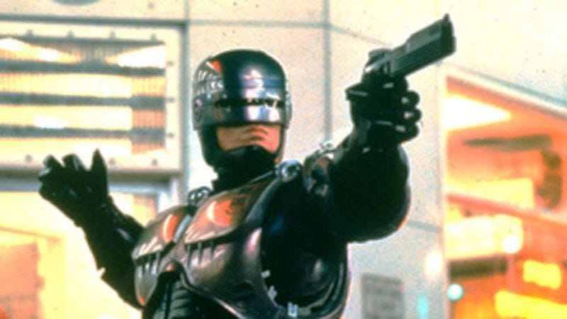 Illustration for article titled Here are some details on Detroit's RoboCop statue