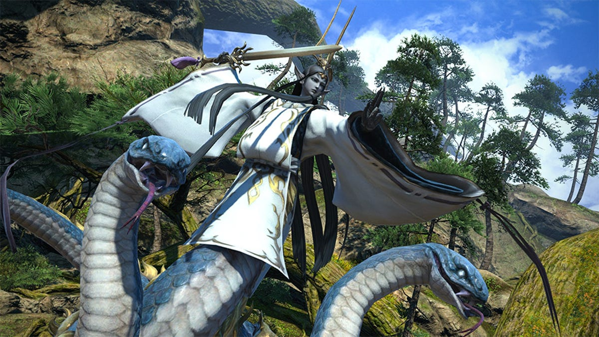 Final Fantasy XIV Update 4 5 Brings The Blue Mages Next Month