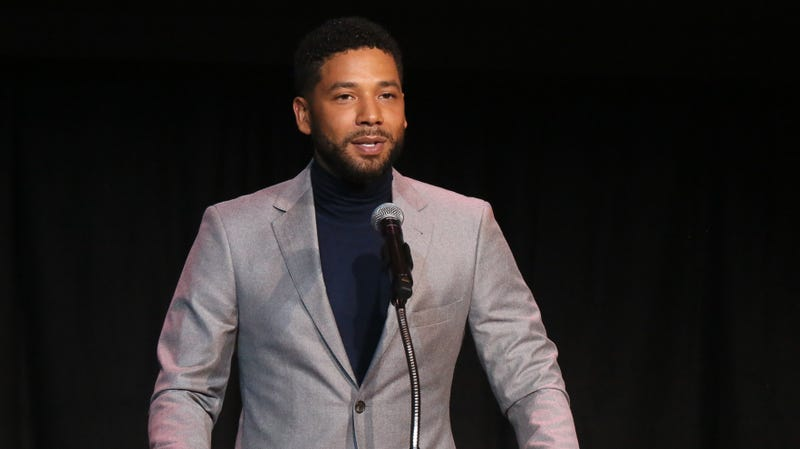 Jussie Smollett speaks at the Children's Defense Fund California's 28th Annual Beat The Odds Awards on December 6, 2018 in Los Angeles, California.
