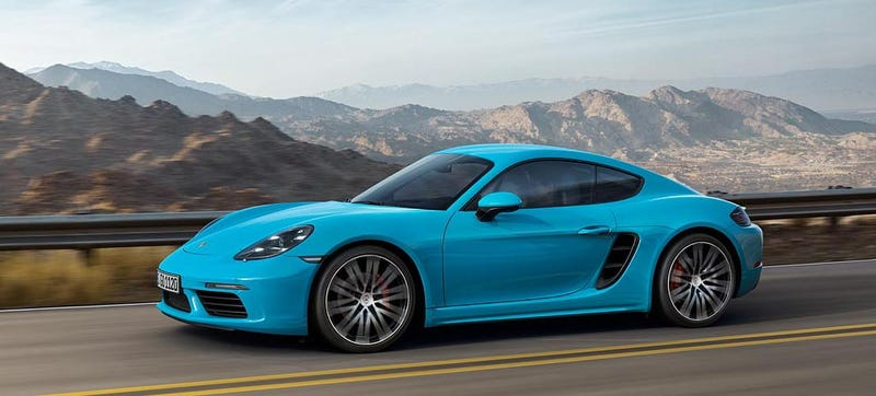 Illustration for article titled 2017 Porsche 718 Cayman: This Is It