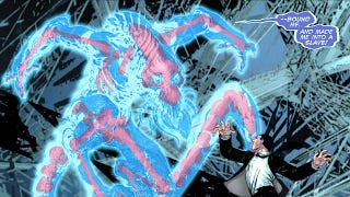 Illustration for article titled Martian Manhunter gets a psychic headache in this sneak peek of DC Comics' Stormwatch