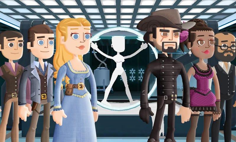 Illustration for article titled Bethesda caza a Warner copiando el código de Fallout Shelter para su juego de Westworld