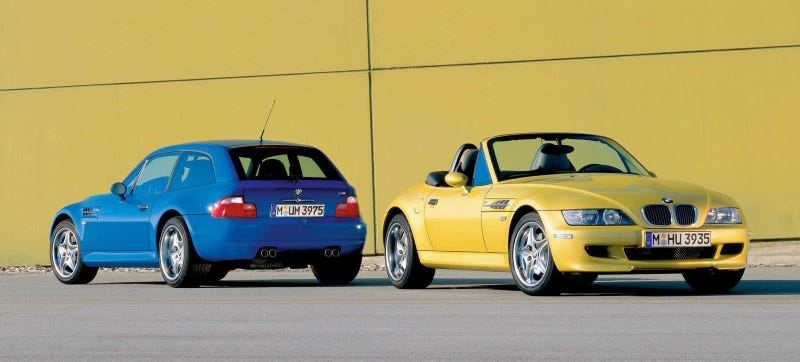 Illustration for article titled Five Reasons Why You Need To Buy A BMW Z3 M Right Now