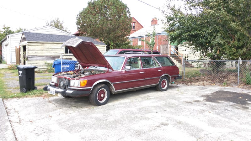 Illustration for article titled WTFind of the day: 450SEL WAGON!!!