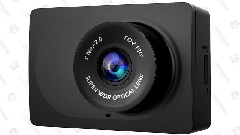 Yi Dash Cam with Wi-Fi | $25 | Amazon | Clip the $15 coupon