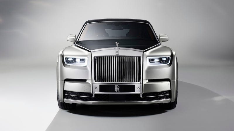 The Rolls-Royce Phantom. Image via Rolls-Royce
