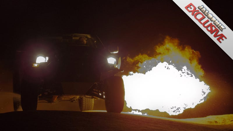 Illustration for article titled Doesn't Every Truck Need A Flamethrower?