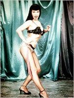 Illustration for article titled Pinup Girl, Pop Culture Icon Bettie Page Dead At 85