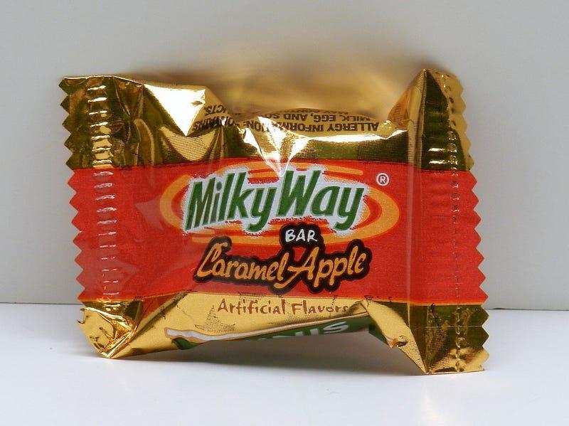 Illustration for article titled Milky Way Caramel Apple Flavor: BAD IDEA.
