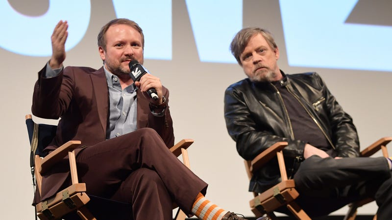 """Illustration for article titled Rian Johnson and Mark Hamill are back to shut down whiny """"manbabies"""""""