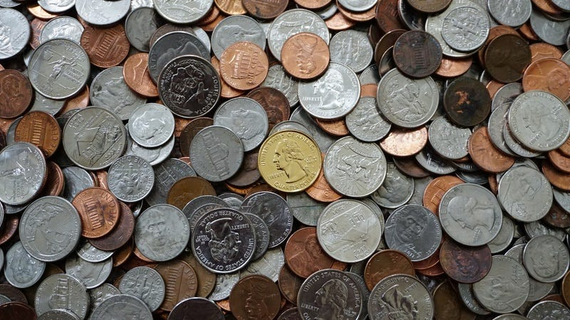 What to Do With All That Loose Change You've Been Hoarding
