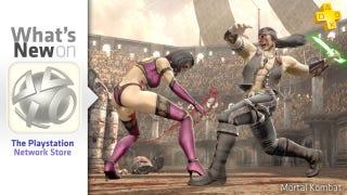 Illustration for article titled PlayStation Store Update: Mortal Kombat Plus