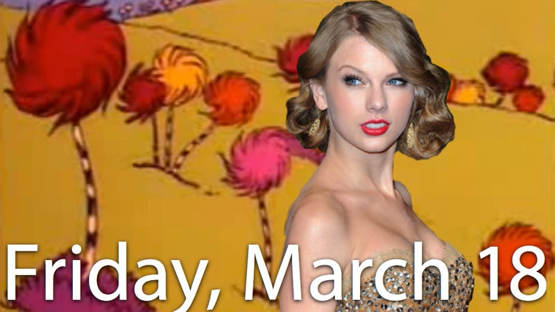 Illustration for article titled Taylor Swift To Be A Dr. Seuss Character