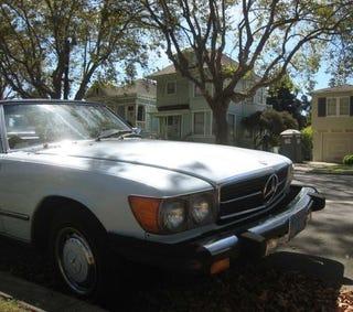 Illustration for article titled 1977 Mercedes-Benz 450SL