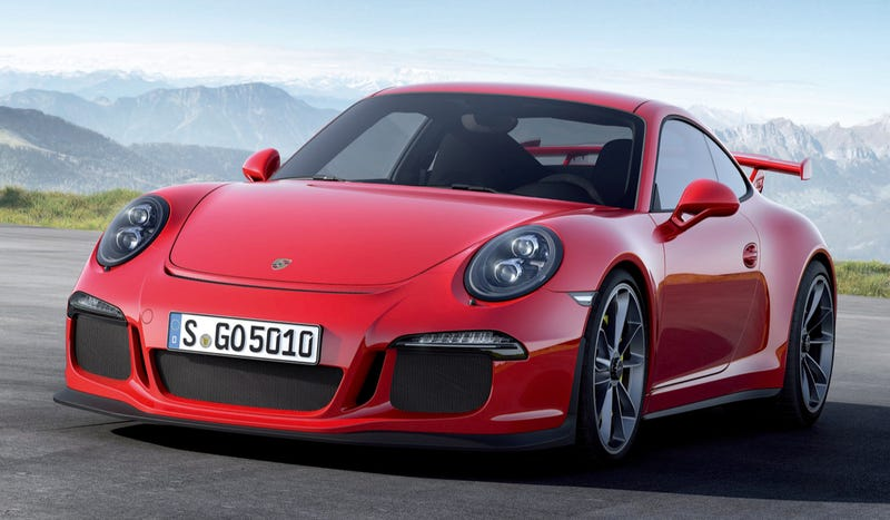 Illustration for article titled 2014 Porsche 911 GT3: This Is It (UPDATED)