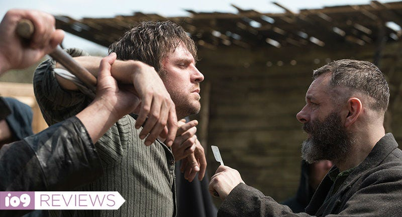 Dan Stevens and Michael Sheen star in Gareth Evans' Apostle.