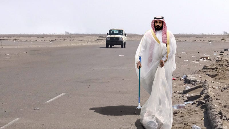 Illustration for article titled Saudi Crown Prince Begins 100 Hours Of Court-Ordered Community Service For Murdering Jamal Khashoggi