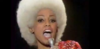 "Marva Whitney screenshot from ""Things Got to Get Better"" video performance (YouTube.com)"
