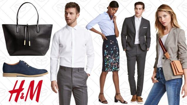 Update Your Wardrobe with 50% Work Essentials at H&M