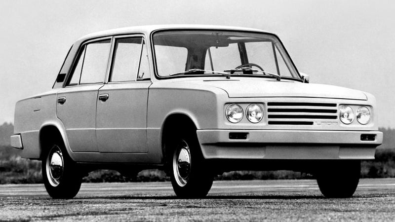 Illustration for article titled Porsche Once Redesigned The Lada
