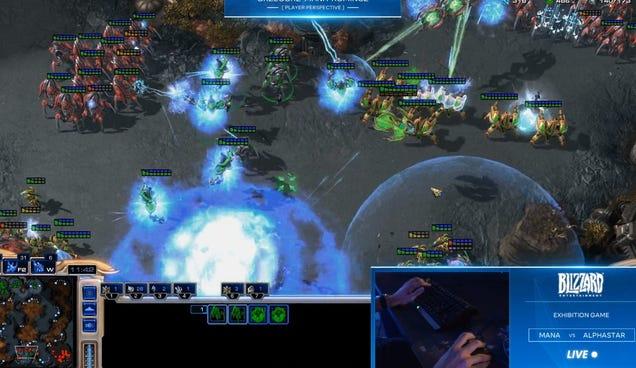 Google's DeepMind AI Just Beat Two Pros At StarCraft II