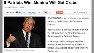Illustration for article titled Today In Hilariously Misleading Headlines About NFL Playoff Bets Between Mayors