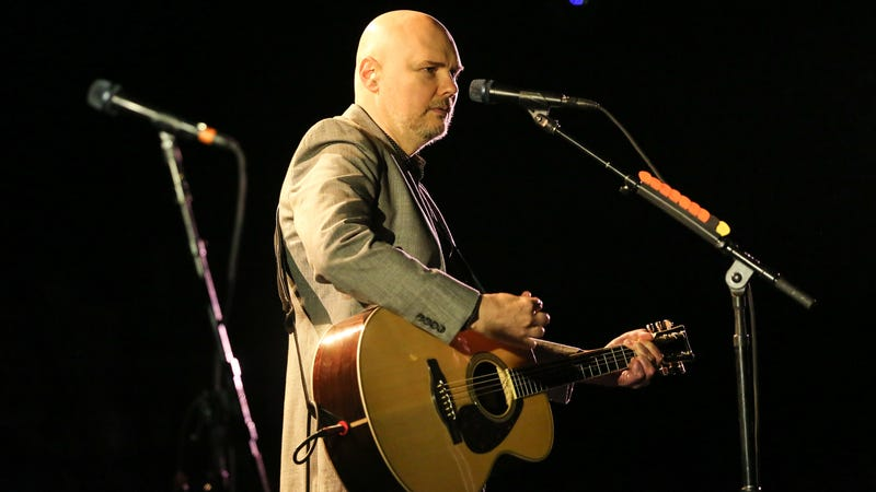 Billy Corgan, frowning politely.
