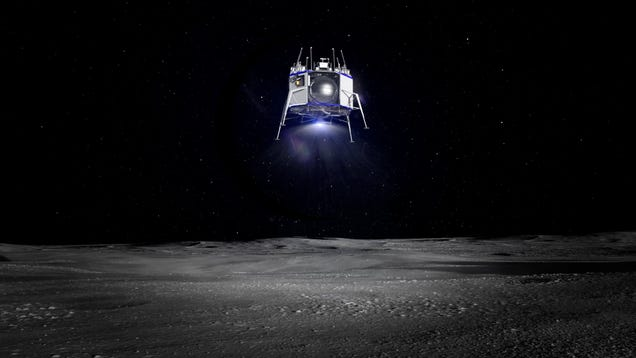 Jeff Bezos Reveals Lunar Lander Designed for  Sustained Human Presence on the Moon