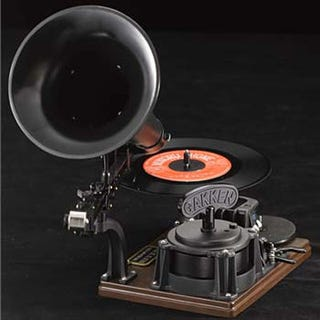 Illustration for article titled Record Your Own Records With Gakken's Gramophone Kit