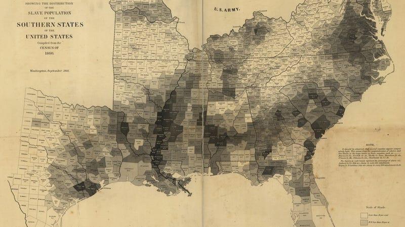 Illustration for article titled Több megyében az emberek 90%-a rabszolga volt