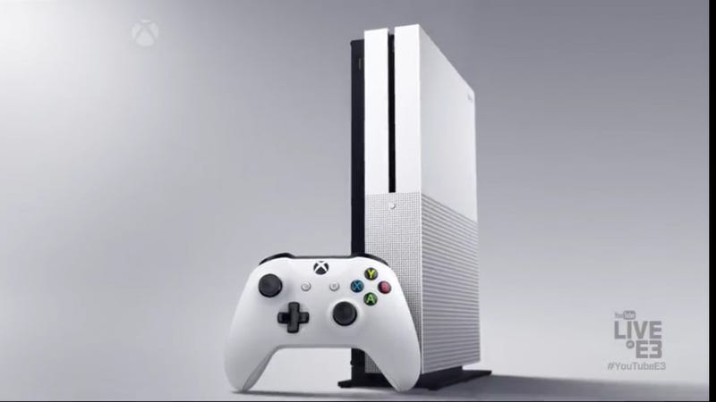 Illustration for article titled Xbox One Slim Announced, Out This August [UPDATE]
