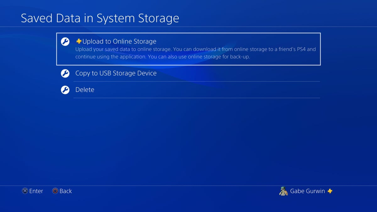 How to Upload PS4 Save Data to the Cloud