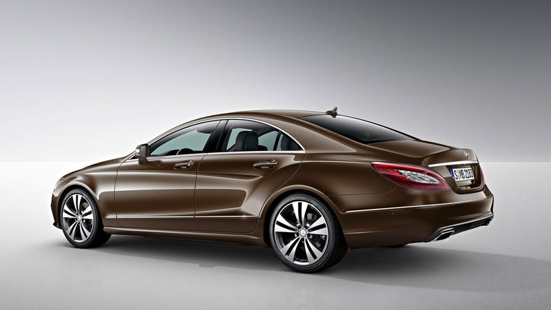 the new mercedes cls might actually not look terrible. Black Bedroom Furniture Sets. Home Design Ideas