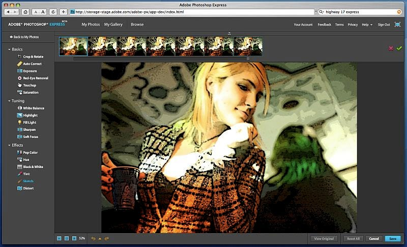 Adobe Photoshop Express Now Live: Free Online Photoshop for