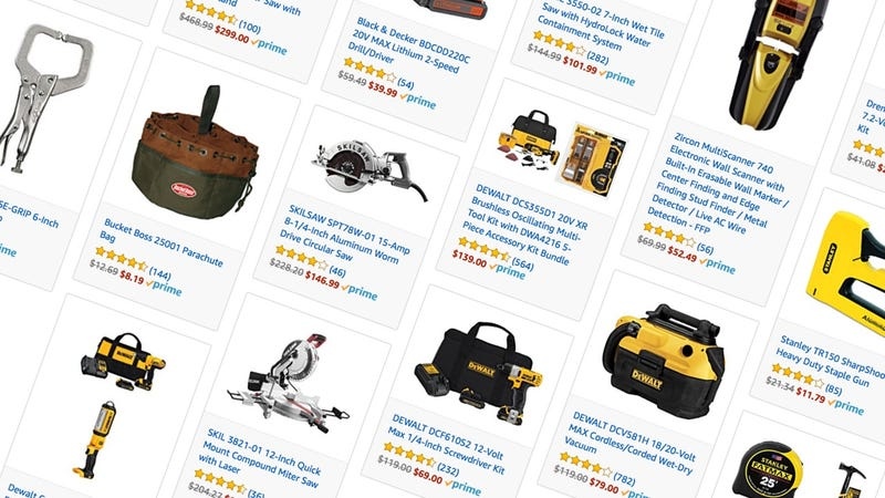 Illustration for article titled Feed Your DIY Habit With a Ton of One-Day Tool Deals From Amazon
