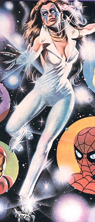 Illustration for article titled Here's Why The Avengers Should Hire Dazzler