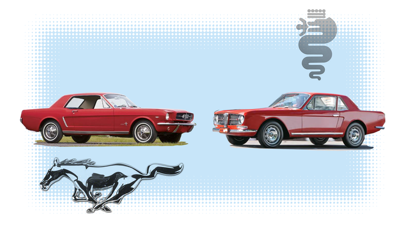 Illustration for article titled If You Always Hoped There Was a Car That Looked Like a Bad Photoshop Mash-Up of an Alfa and a Mustang, I Have Good News