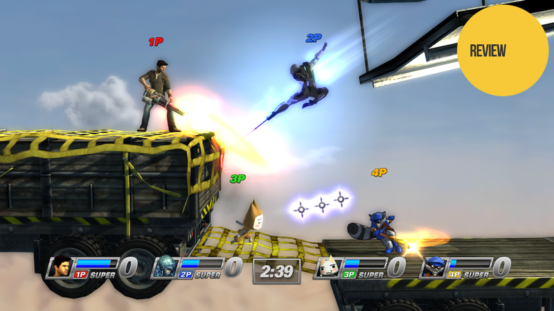 Illustration for article titled PlayStation All-Stars Battle Royale: The Kotaku Review