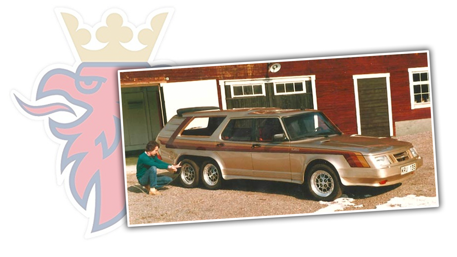 You Should Know About The Biggest (Best?) Saab Ever, It Had Six Wheels