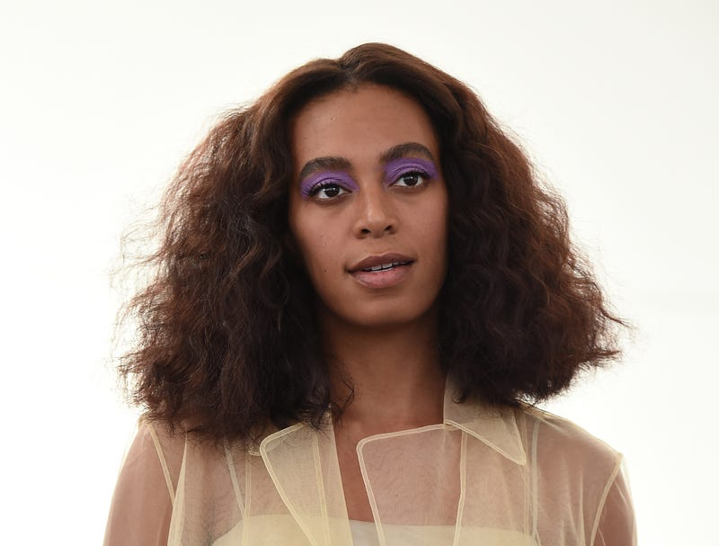 Solange Knowles at a New York Fashion Week event on Sept. 8, 2016, in New York City.Ilya S. Savenok/Getty Images