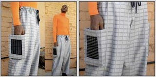 Illustration for article titled Solar-powered pants are now on the market