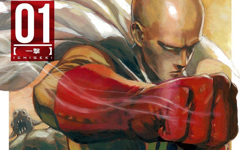 Illustration for article titled One-Punch Man Shows Why Manga Will Always Matter