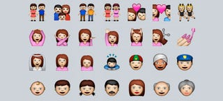 Illustration for article titled Apple's Trying To Make iOS Emojis More Racially Diverse
