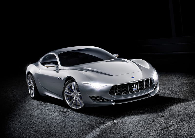 Illustration for article titled Maserati sets hearts on fire with new Alfieri concept