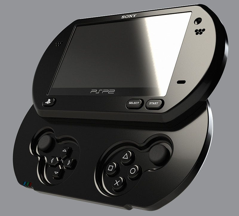 Illustration for article titled Will The PSP2 Look Like This?
