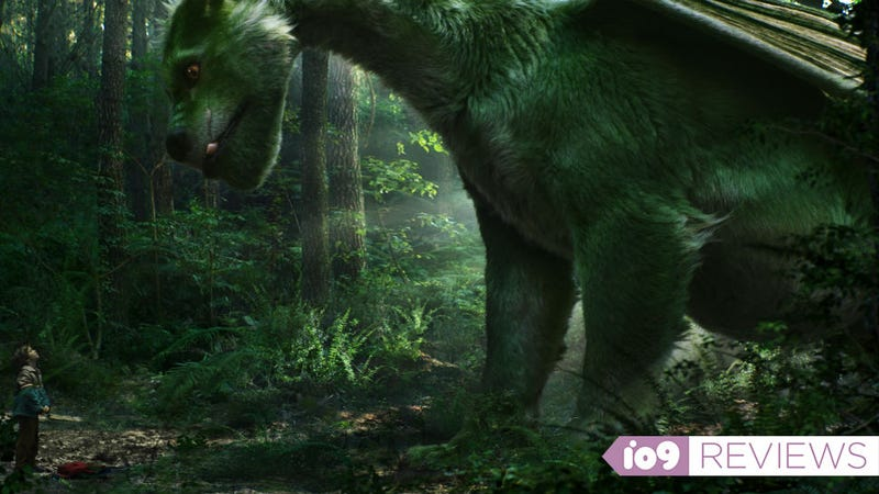 Illustration for article titled Movie Review: Pete's Dragon Is Too Nice For Its Own Good