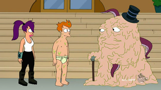 Illustration for article titled Futurama offers up the most disgusting equality parable ever as its 100th episode