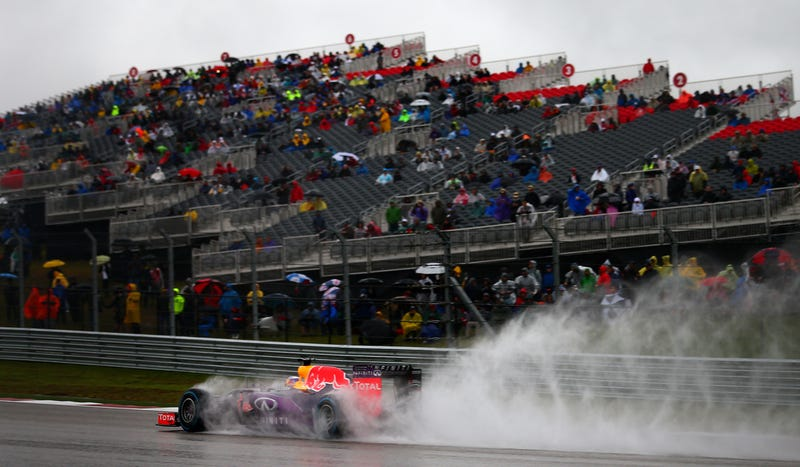 Illustration for article titled Soggy Austin Formula One Race Was 'Financially Devastating' For Organizers: Reports
