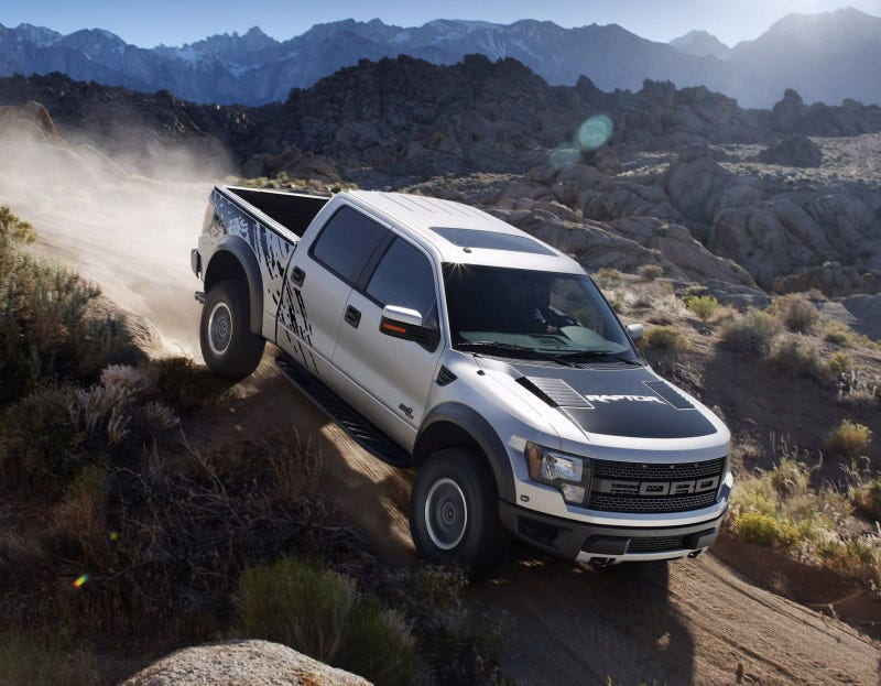 Illustration for article titled 2011 Ford F-150 SVT Raptor SuperCrew: Four Doors Of Awesome