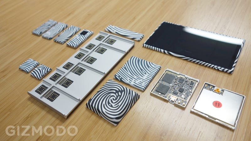 Illustration for article titled Project Ara Hands-On: Google's Modular Smartphone Sure Is Modular